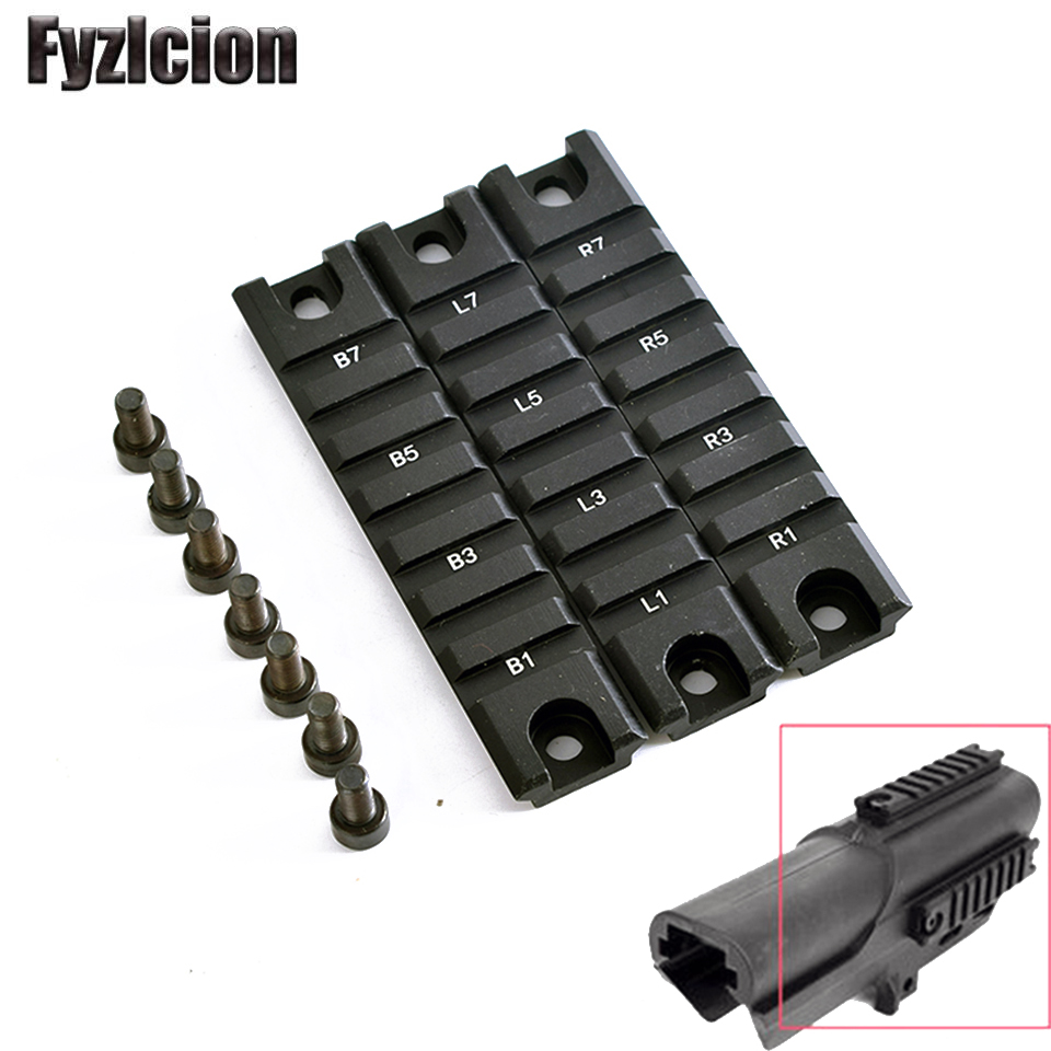 Scope Mounts & Accessories Hunting Apprehensive Tactical 3pcs Standard 98mm Length 20mm Base Weaver Picatinny Short Mount Rail System For G36 G36c Hunting Accessories Carefully Selected Materials