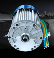 60V 72V 3000W 4600RPM Permanent Magnet Brushless DC Motor Differential Speed Electric Vehicles Machine Tools DIY