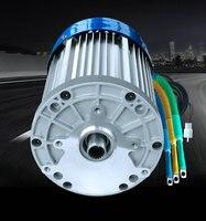 60 В 3000 Вт 4600 об./мин. постоянный магнит бесщеточный двигатель постоянного тока дифференциальный скорость электрических транспортных средст