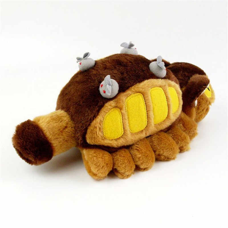 12''30cm Hot Anime Studio Ghibli My Neighbor Totoro Cat Bus Plush Toy Stuffed Plush Doll Creative Gifts for kids