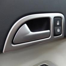 Нержавеющая сталь внутренняя дверная ручка крышки рамка отделка для Volvo C30 S40 V50 2004-2012 год