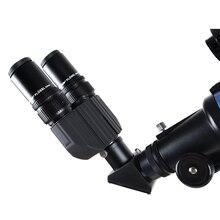Stereo Binocular Viewer for Telescopes Monocular Turn to Binoculars Adapter