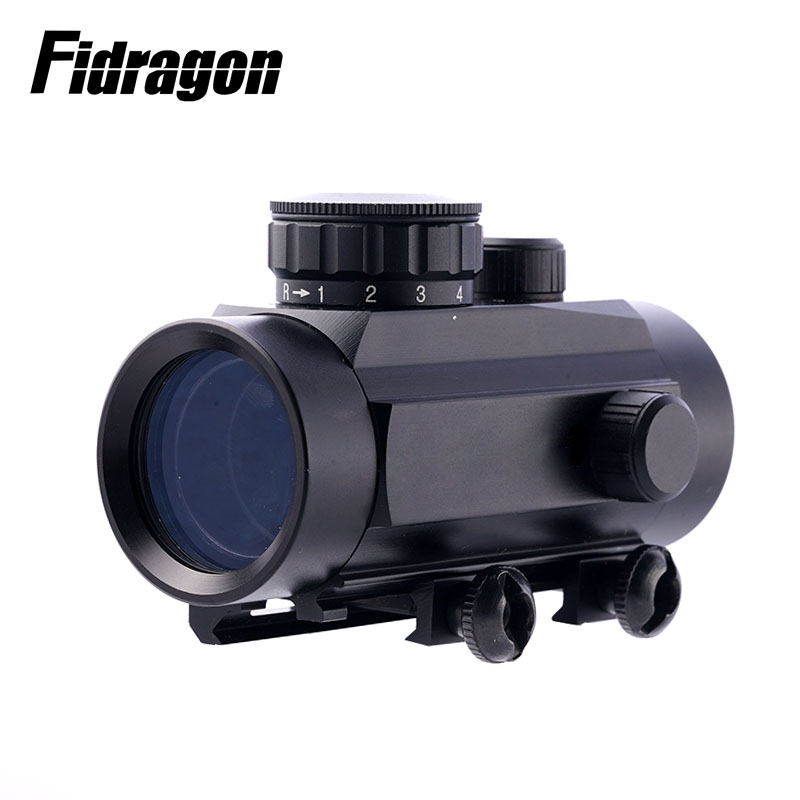 Rifle 1X30 Hunting Tactical ShockProof Rifle Pistol Gun Red Dot Crossbow Sights Scope For Airsoft Paintball War Game Water Gun