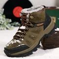 Novos homens ao ar livre sapatos de neve 36-46 inverno da marca anti-skid botas de alpinismo sapatos ao ar livre respirável ocasional 3100