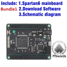 Spartan6 Mojo V3 FPGA Development Board kits Module Spartan 6 XC6SLX9 SDRAM voor Arduino DIY