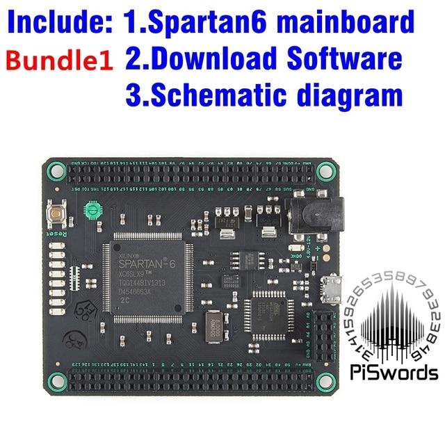 Spartan6 موجو V3 FPGA مجلس التنمية أطقم وحدة المتقشف 6 XC6SLX9 SDRAM لاردوينو لتقوم بها بنفسك