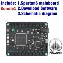 Spartan6 mojo v3 fpga 개발 보드 키트 모듈 spartan 6 xc6slx9 arduino diy 용 sdram