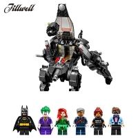 775Pcs 07056 Building Blocks supplie figure The Scuttler Bat Spaceship Legoing Batman Super Heroes Children educational diy Toys
