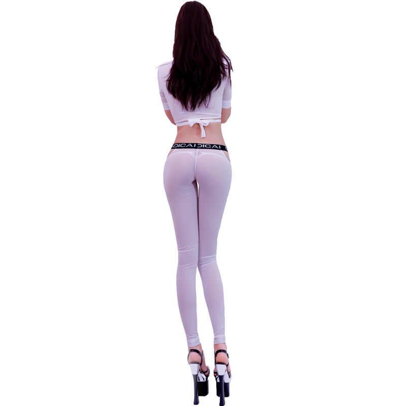 Эротические штаны прозрачные, мастурбация намазала себя маслом