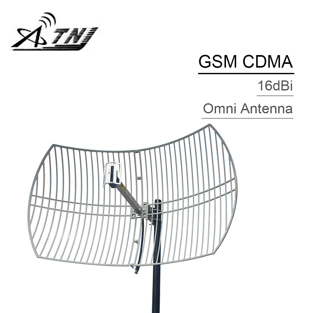 16dBi High Gain GSM 900mhz CDMA 850mhz External Grid Antenna N Female Connector Outdoor Antenna For Cell Phone Signal Booster