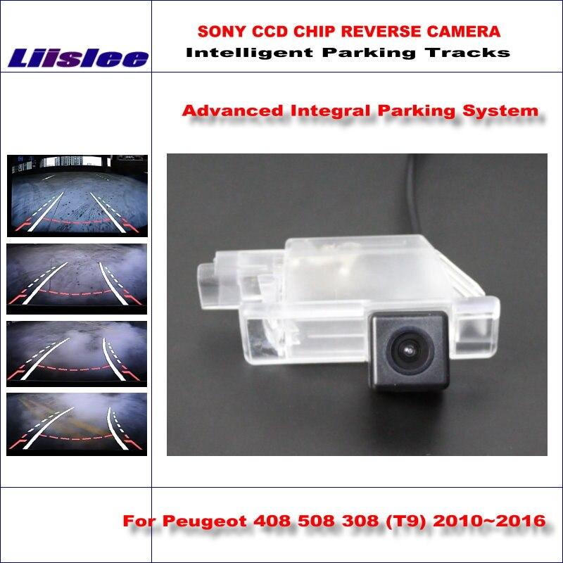 купить Liislee Intelligentized Reversing Camera For Peugeot 408 508 308 (T9) 2010~2016 Rear View Back Up / Dynamic Guidance Tracks по цене 3569.87 рублей