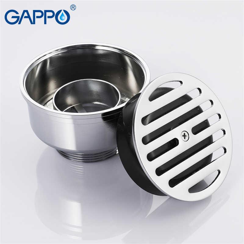 GAPPO слив Круглый анти-запах ванная комната трапных отходов сливной покрытие для пола пробка ванная пол для душа слив