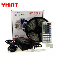 1 Set 5 Meters DC12V 5A SMD5050 IP65 IP20 Waterproof Red Blue Green Yellow White Warm