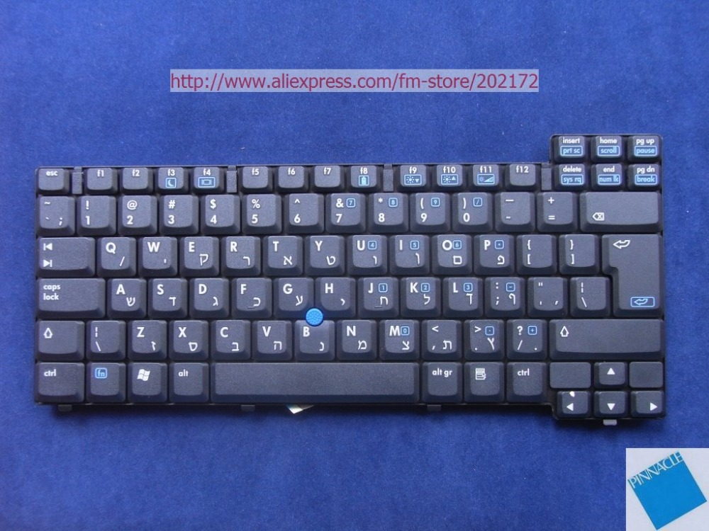 Brand New Black Laptop Keyboard 378203-BB1  359087-BB1  For  HP Compaq NX8220  NC8230  Hebrew Layout 100%  compatiable uk nx1 nx 1 new