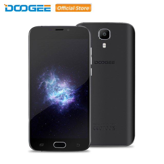 Original DOOGEE X9 Pro 5.5 inch Android 6.0 MTK6737 Quad Core 2GB RAM 16GB ROM 4G LTE CellPhone with DTouch Fingerprint Scanner