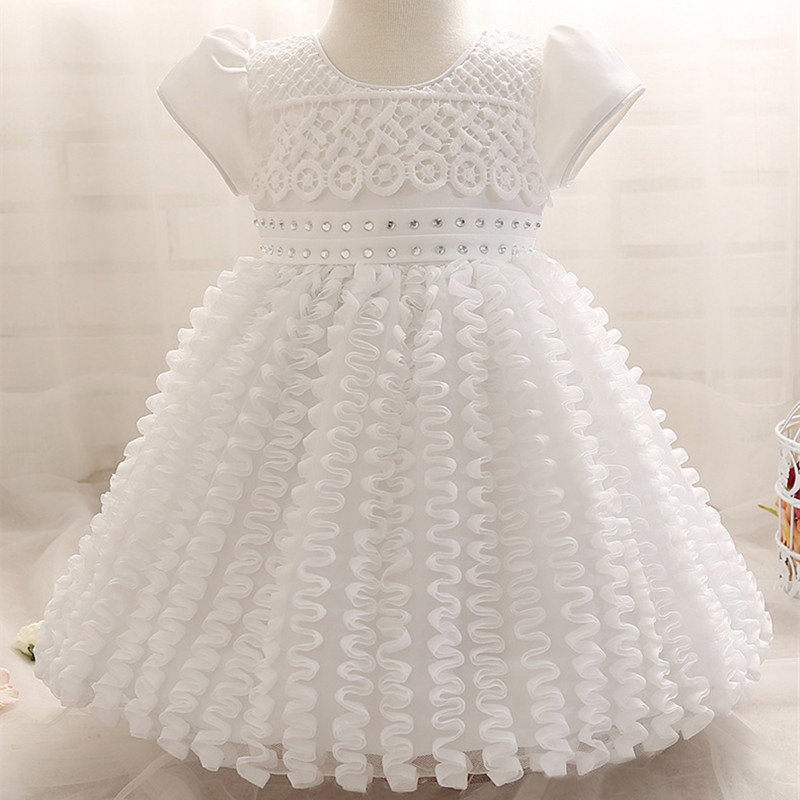 Aliexpress.com : Buy Summer Baby Girl 1 Year Birthday Dress Cute ...