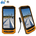 "IP68 Resistente Android Smartphone Cargador de Teléfono Magnética Delgada Impermeable Quad Core 5 ""1280X720 W101 4G LTE GPS 2 GB RAM GPS 4200 mAH"