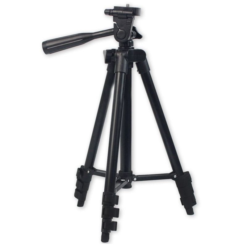 DSLR Camera Tripod Stand Photography Photo Video Aluminum Camera Tripod Stand Camera Tripod For Phone/Gopro With Bag lightweight aluminum mini tripod 4 sections universal camera tripod camera stand photo tripod gorillapod tripe