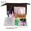 BAISIDAII 17in1 Eyelash Lashes Extension Curler Kit Perming Glue Eyelash Pads Perm Full Set With Tweezers Bag B32