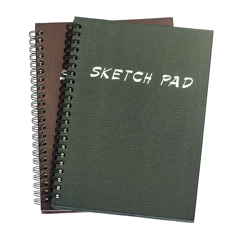 Sketch Book A4 SketchBook 35 Sheets Double Coil Notebook Blank White Drawing Painting Paper Graffiti Art Supplies Stationery