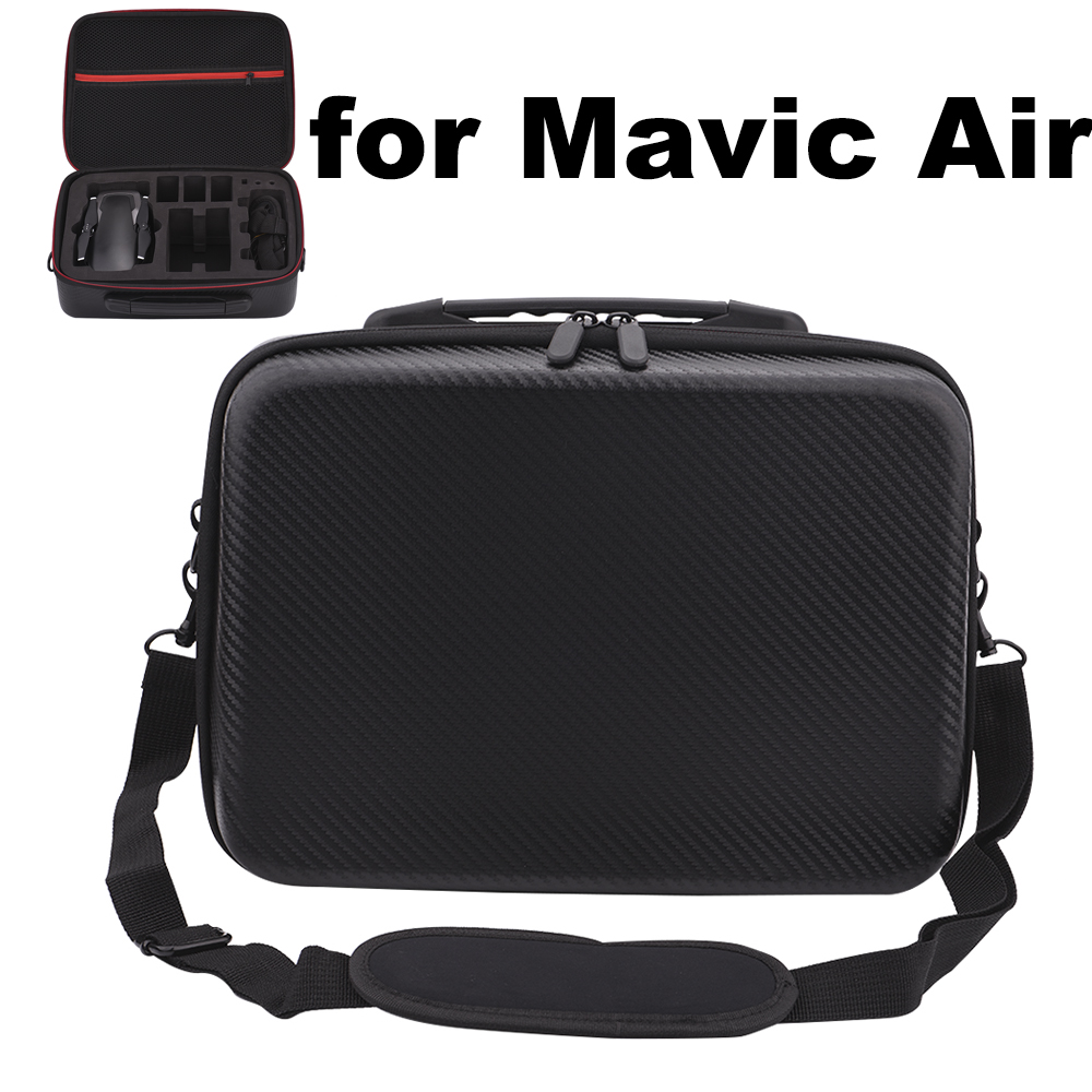 Dji Mavic Air Storage Bag Carrying Case for Mavic Air drone Waterproof Shockproof PU Suitcase Shoulder Bag Tranport Case