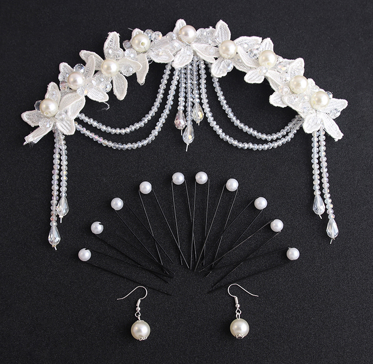 Купить с кэшбэком wedding accessories stunning crystal pearls beading bridal hats hand made wedding hair accessories bride hat halloween