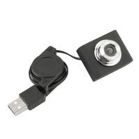 Newest Mini USB 5M Retractable Clip WebCam Web Camera Laptop 100% Wholesale Hot Promotion Webcams