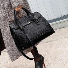 Drands Designer Women Crocodile Bag Women Handbag