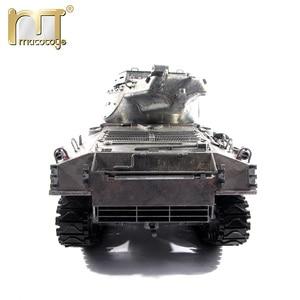 Image 3 - 마토 금속 탱크 모델 실행 준비 100% 금속 M36B1 RC 탱크 파괴자 적외선 리코일 버전