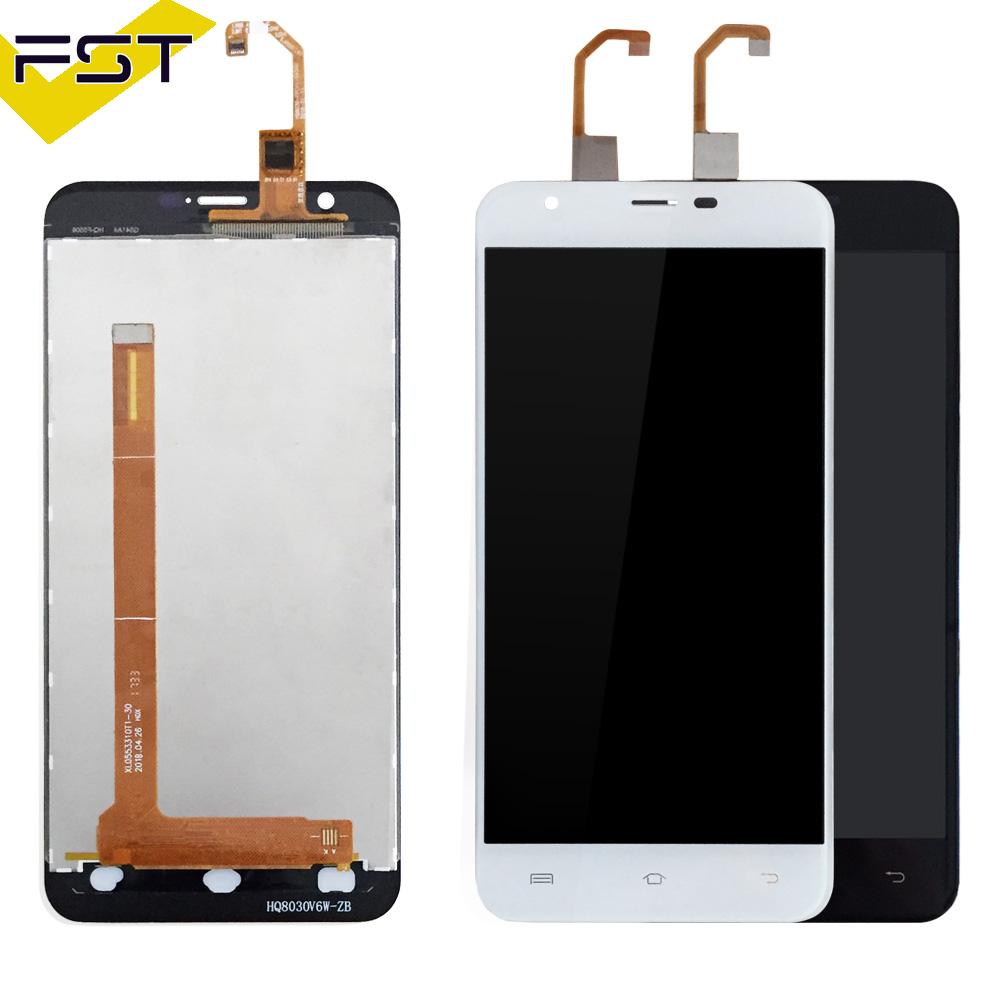 Black/White For Oukitel U7 Plus LCD Display+Touch Screen Digitizer Assembly For U7 Plus LCD Glass Panel Sensor Lens+ Tools