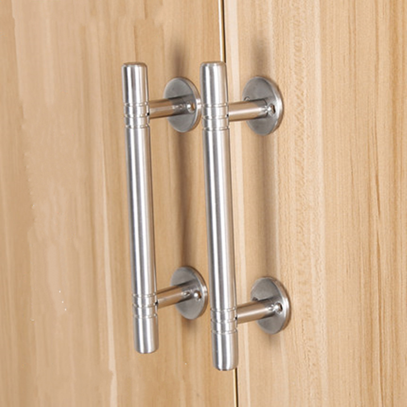 High quality stainless steel adjustable door handles Cabinet Drawer Pulls and Knobs furniture handles Hardware Accessories