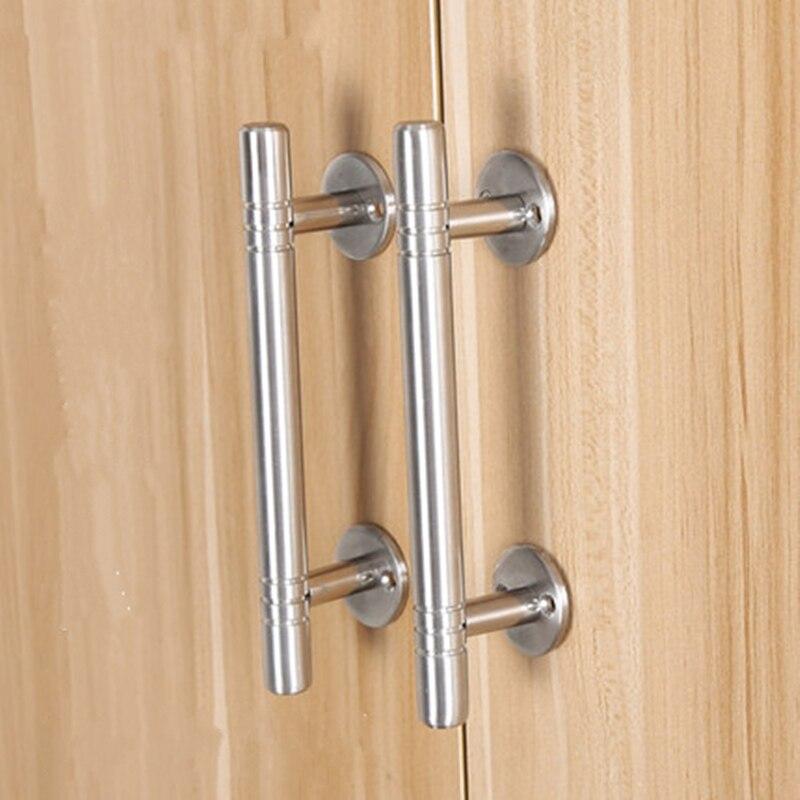Tiradores de puerta ajustables de acero inoxidable de alta calidad tiradores de cajón de gabinete y perillas manijas de muebles accesorios de Hardware
