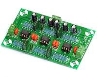 Stereo MM Phono RIAA Preamplifier Module Board OPA2134