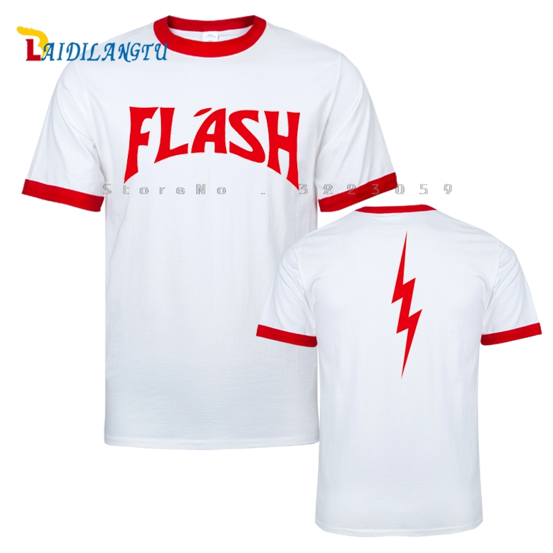 FREDDIE MERCURY FLASH GORDON QUEEN ROCK BAND TSHIRT RETRO HIP HOP FANCY DRESS 80's Top Tee Front Printing Men's T-shirt(China)