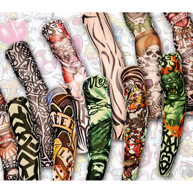 Online buy wholesale sleeve tattoo pictures from china for Wholesale temporary tattoos