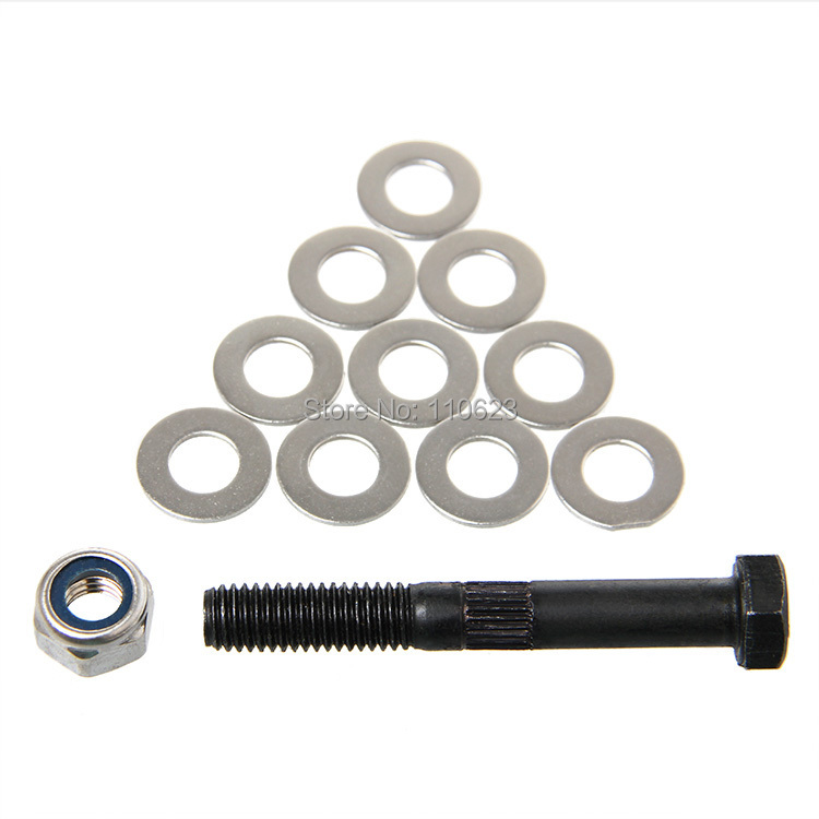 M8 Hobbed Bolt & lock nut for Gregs Wade Extruder Delta Roxtock mini 3D Printer