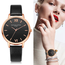 2017 Rose Gold Lvpai Model Leather-based Watch Luxurious Basic Wrist Watch Style Informal Easy Quartz Wristwatch Clock Girls Watches