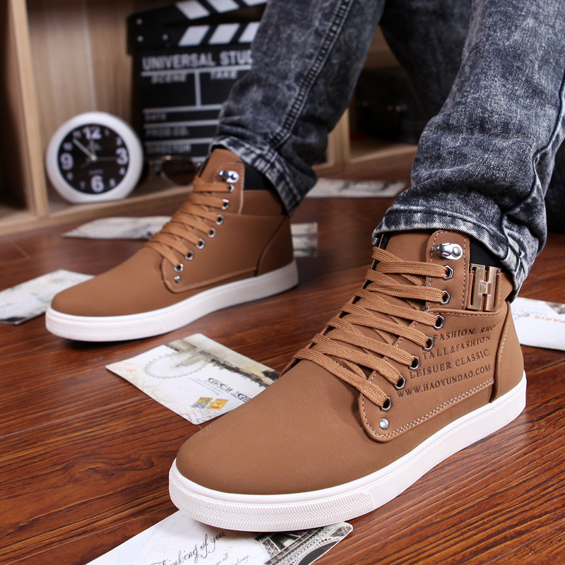 eefe8a69ee2c3 Noopula Men s Shoes Casual Shoes Fashion Flat Men For Shoe Casual Platform Trainers  Designer 2017 Men s Brand Luxury Shoes-in Men s Casual Shoes from Shoes ...