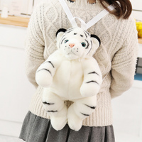 45 Stuffed Animal Tiger Backpack Shoulder Bag Plush Toy Doll Dual Function Toys For Children