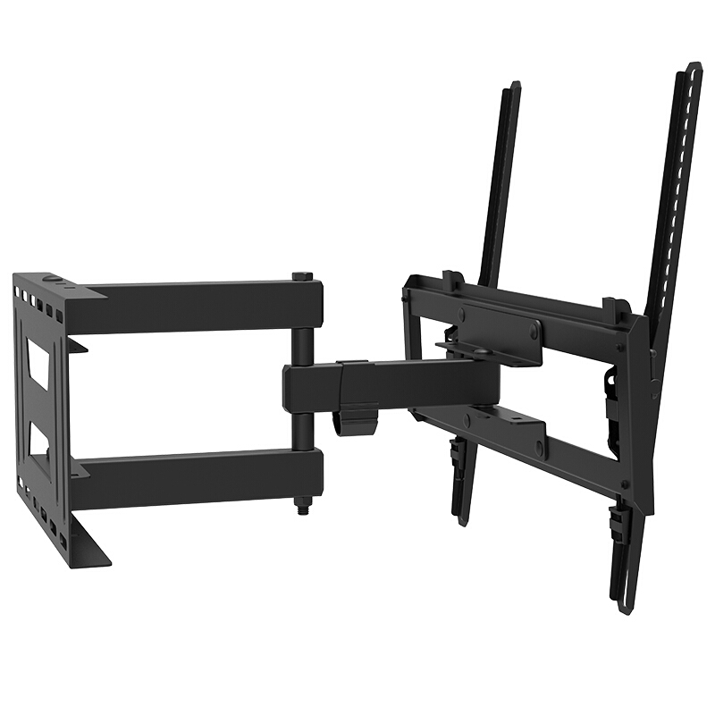 Full Motion TV Wall Mount Bracket Dual Articulating Arms Swivel Tilt for 23 65 quot LED LCD TV Holds up to 77lbs Max VESA 400x400mm in TV Mount from Consumer Electronics