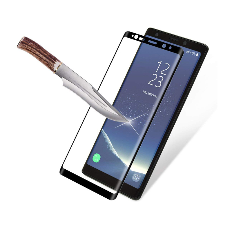 DHL 100pcs For Samsung Galaxy Note 9 S8 S9 Plus Tempered Glass Film 3D Curved Edge