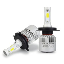 Safego 2Pcs H7 H8 H9 H11 9005 HB3 9006 HB4 Cob Led Auto Koplampen Hi Lo Beam auto Mistlamp Lamp 8000LM 6500K 12V 24V