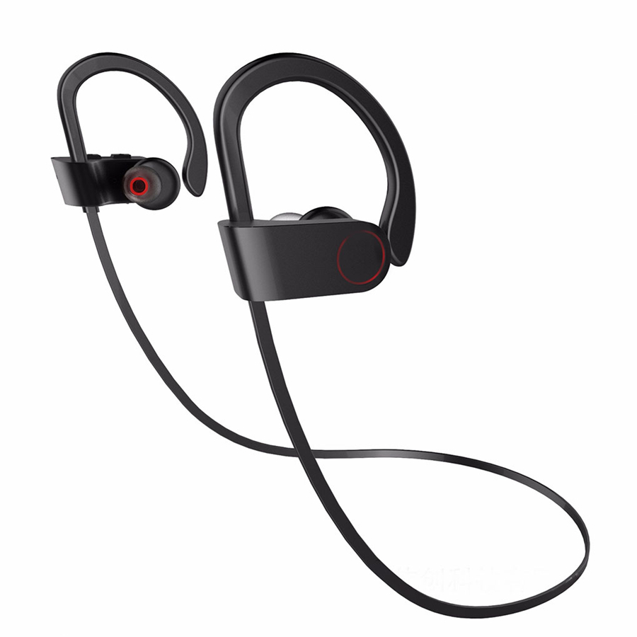 Bluetooth Earphone Sports Wireless Headphone With Microphone Stereo Super Bass Bluetooth Headset for iPhone 8 7 6 Plus Samsung m 6 bluetooth v3 0 stereo headset w microphone for iphone black
