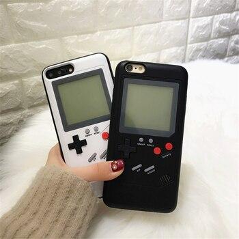 Consola De Juegos Tetris Telefono Casos X 6 Para Iphone 6 Plus 7 7