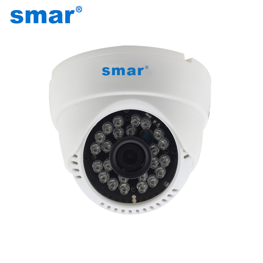 Smar CCTV Camera 1000TVL Home Security Surveillance Analog Camera 24 IR LED Built-in IR Cut Filter Hot Sale smar home security 1000tvl surveillance camera 36 ir infrared leds with 3 6mm wide lens built in ir cut filter
