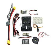 2.4.5 Pixhawk PX4 Autopilot PIX de 32Bit Controlador de Vuelo con Tarjeta DEL TF y el Módulo De Alimentación y PPM y I2Cfor RC Multicopter de