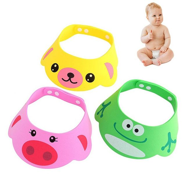 ecc78ee135c New Arrival Lovely Adjustable Baby Hats Toddler Kids Shampoo Bathing Shower  Cap Wash Hair Visor Caps For Baby Care