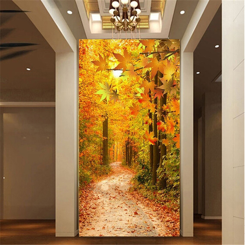 PSHINY 5D DIY Алмазды кестелеу Maple Leaf - Өнер, қолөнер және тігін - фото 1