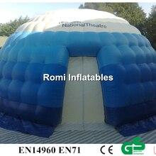 Надувная палатка igloo, надувная купольная палатка, наружная рекламная выставка, надувная палатка
