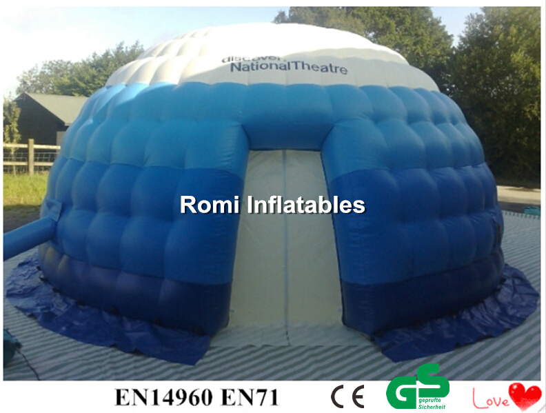 Free shipping Inflatable igloo tent inflatable dome tent outdoor events advertising exhibition Inflatable tent attractive advertising inflatable booth white or colorful inflatable cube tent